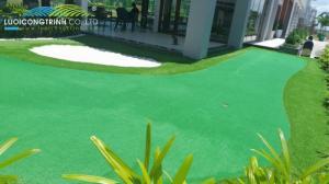 Nhận thi công, lắp đặt bộ chơi golf mini tại gia