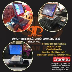 Lắp đặt máy tính tiền cho quán cafe tại Đồng Tháp