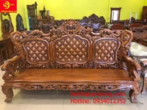 Bộ bàn ghế hoàng gia 06 món mẫu mới 2020 tại Sơn Đông