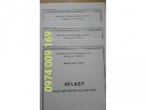 Bộ 3 bìa kẹp hồ sơ viên chức