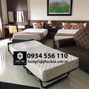 Giường gấp extra bed - giường phụ khách sạn Hà Nội, Quảng Ninh