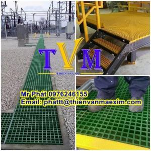 Nhà cung cấp tấm sàn frp grating composite