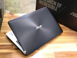 Laptop Asus A556UR, I7 6500U 8G SSD128+320G Vga GT930MX Full HD Đẹp Keng Giá