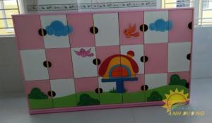 Chuyên cung cấp tủ mầm non dành cho trẻ em giá rẻ, uy tín, chất lượng nhất