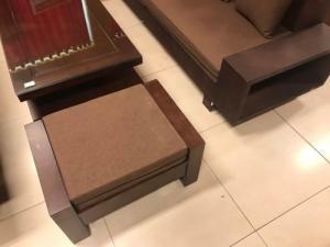 Bộ sofa góc á âu sang trọng gỗ sồi nga 4 món giá rẻ tại xưởng