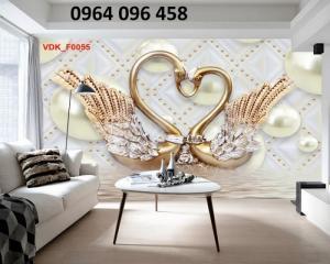 Gạch tranh 3d trang trí phòng khách đẹp