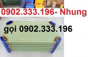 Giường ngủ mầm non tại An giang, giường trẻ em mầm non tại AN giang