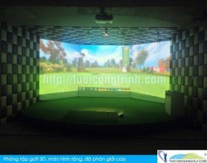 Phòng Tập Golf 3D đẳng cấp thương gia