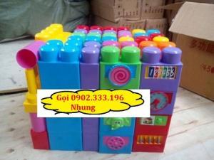 Bán đồ chơi xếp hình lego khu vui chơi, đồ chơi khu vui chơi liên hoàn