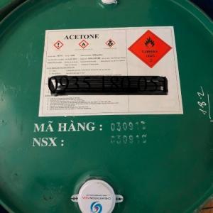Dung môi tẩy rửa Acetone C3H6O