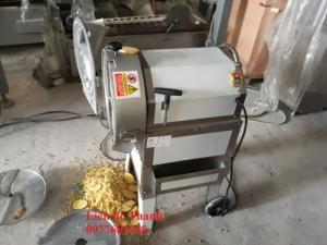 Máy thái hạt lựu củ quả, máy thái hạt lựu bí, máy cắt bí hạt lựu