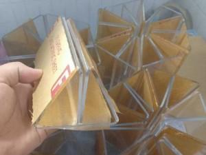 Menu mica tam giác Tân Mỹ Long