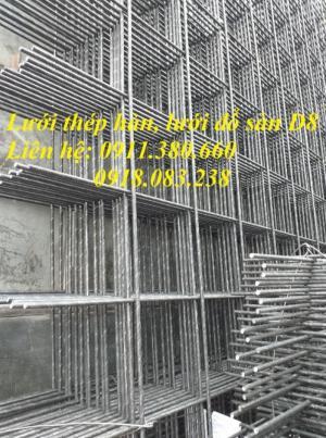 Lưới Thép Hàn, Lưới Đổ Sàn D8 Ô 200X200