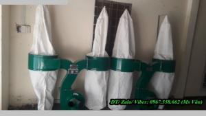 Máy hút bụi công nghiệp 2 túi vải cho xưởng gỗ xưởng may giá rẻ tại tphcm