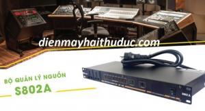 Quản lý nguồn điện Kiwi S802A hỗ trợ 10 cổng có Aptomat