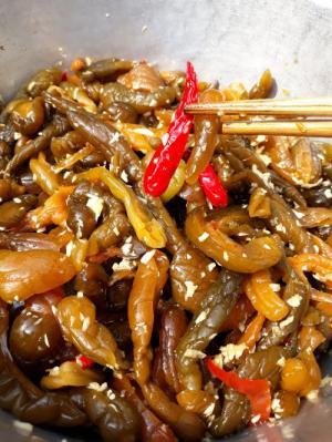 Hủ 1kg Dưa chuột mắm tỏi ớt thơm ngon - Food by Mama
