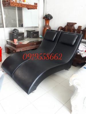 Sofa thư giản| ghế đọc sách bằng gỗ tphcm gia re