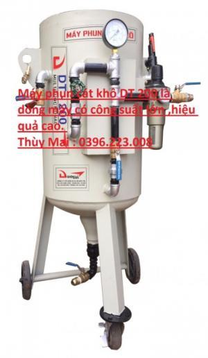 Chuyên bán máy phun cát khô DT 200 giá ưu đãi toàn quốc
