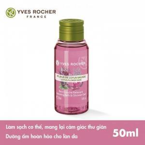 Gel Tắm Mini Yves Rocher Mini Shower Gel Lotus Sage 50ml chính hãng từ Pháp