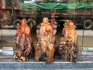 Tượng gỗ Tam Đa - Phúc Lộc Thọ _ Mỹ nghệ Âu Lạc