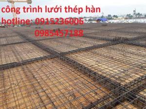 Lưới thép hàn D4  ô 100x100 hàng sẵn kho giá thành hợp lý