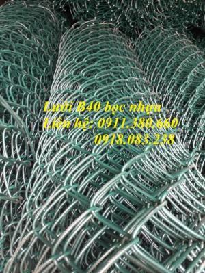 Lưới B40 Bọc Nhựa Dây 2Ly; 2.5Ly; 2.7Ly; 3Ly Giá Tốt Tại Hà Nội