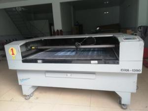 Bán máy laser 1390 Yuming cũ bóng mới 130W