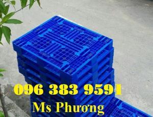 Bán Pallet nhựa công nghiệp dùng kê hàng, lót sàn trong kho