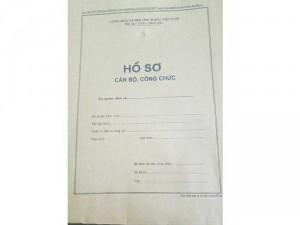 Túi hồ sơ công chức/ bìa hồ sơ công chức