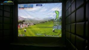 Gold 3D, 3D golf simulator, golf