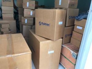 Bơm màng khí nén hiệu FLUIMAC, nhập khẩu trực tiếp ở ITALY