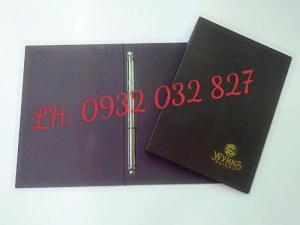 Địa chỉ sản xuất bìa sổ tay, cung cấp bìa đựng hồ sơ, bìa menu nhựa giá rẻ,