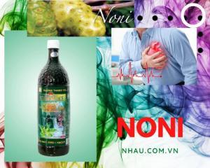 Nước cốt trái nhàu (Noni Juice) hỗ trợ trị tiểu đường, huyết áp, tim mạch