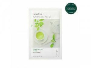 Mặt Nạ Miếng Chiết Xuất Trà Xanh Innisfree My Real Squeeze Mask Green Tea