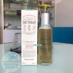 Nước Cân Bằng Da The Therapy Essential Toner Tonique Essentiel 150ml