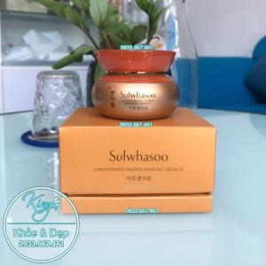 Kem Dưỡng Da Sulwhasoo Concentrated Ginseng Renewing Cream EX 60ml