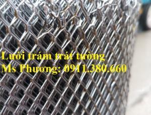 Lưới trám trát tường chống nứt khổ 1mx45m, ô 6x12ly, dạng cuộn có sẵn