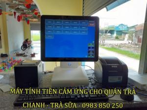 Lắp máy tính tiền Cảm ứng giá rẻ tại Lộc Hà - Hà Tĩnh