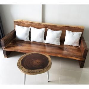 Sofa Gỗ Nguyên Tấm Dài 2m