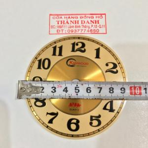 Mặt số đồng hồ treo tường