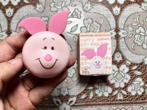 Phấn má hồng dạng tươi Happy With Piglet Jelly Mousse Blusher xách tay Hàn Qu