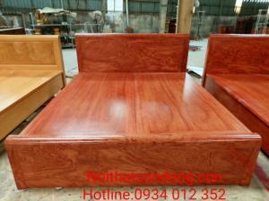 Giường ngủ gỗ giá rẻ tại tân phú