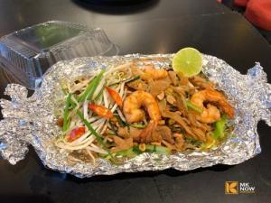 Pad Thái tôm thịt - Hủ tiếu xào kiểu Thái sốt cay MKnow