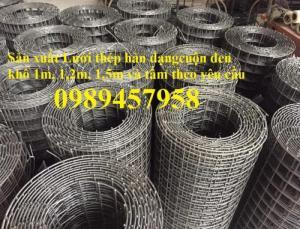 Sản xuất lưới hàn chập phi 3 khổ 1mx2m, 1,2mx2m, 1,5mx3m theo đơn hàng
