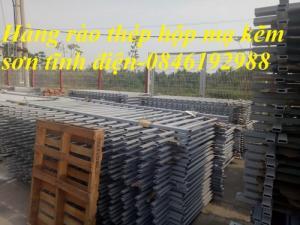 Xưởng sản xuất hàng rào mạ kẽm, hàng rào sơn tĩnh điện giá rẻ