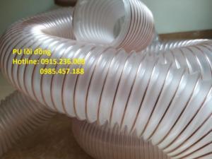 Ống hút PU lõi đồng hút khí thải, hút bụi gỗ, hút phế liệu, dẫn khí, hóa chất