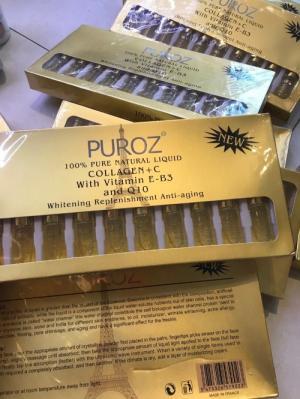 Serum Pháp Puroz Collagen + C