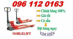 Xe nâng tay thuye lực 3 tấn Noblelift chính hãng