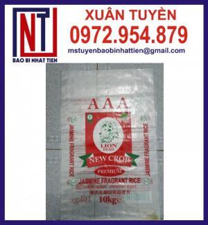 Chuyên cung cấp bao bì gạo 10kg, 25kg, 50kg