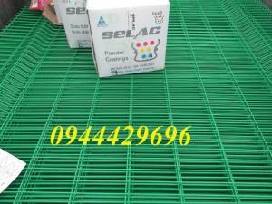 Lưới Thép Hàng Rào Mạ Kẽm Sơn Tính Điện D4 A 50X150